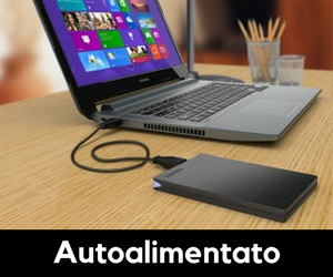 hard disk autoalimentato