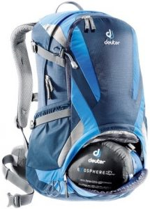 zaino deuter futura comparto inferiore