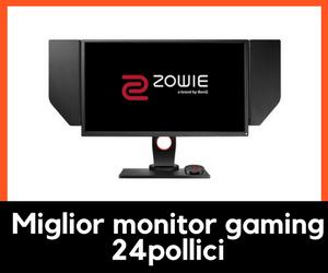 Miglior monitor gaming 24 pollici