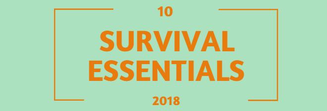 10 cose essenziali da avere sempre nello zaino