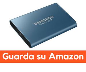 samsung T5 SSD recensione