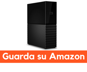 western digital my book recensione