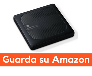 western digital my passport wireless recensione