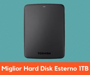 Miglior Hard Disk Esterno 1TB