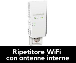 ripetitore wifi con antenne interne