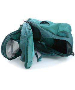 osprey farpoint apertura a valigia
